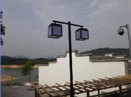 复古路灯的仿古设计