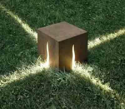 工艺草坪灯造型